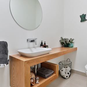 Bathroom, Bedroom, Laundry and Living by Nigel Molloy Joinery LTD